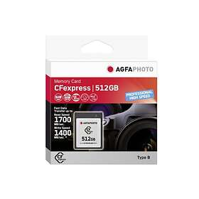 AgfaPhoto High Speed Professional CFexpress 512GB