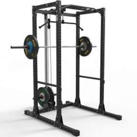 ATX Fitness Power Rack 650 With Free Weights