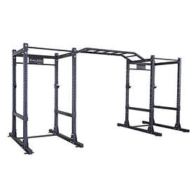 Body Solid Commercial Extended Double Power Rack Package