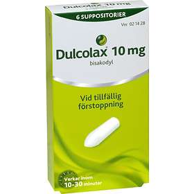 Sanofi Dulcolax 10mg 6 Suppositorier