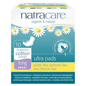 Natracare Ultra Pads Long Wings (10-pack)
