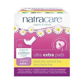 Natracare Ultra Extra Pads Super Wings (10-pack)