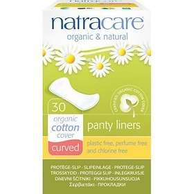 Natracare Curved Panty Liners (30-pack)