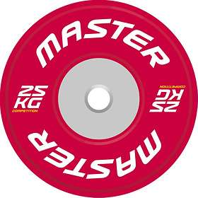 Master Fitness Bumper Plate Competition 25kg