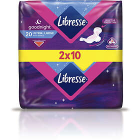 Libresse Goodnight Ultra Maxi Wings Duo (20-pack)