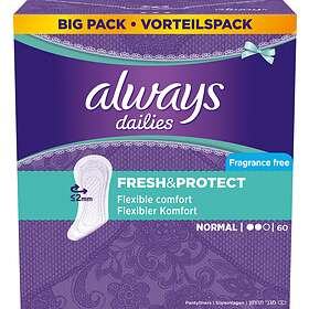 Always Dailies Fresh & Protect Normal (60-pack)