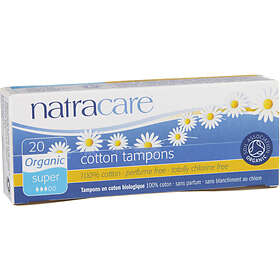 Natracare Super Tampons (20-pack)