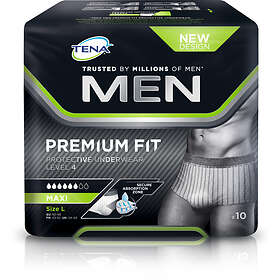 Tena Men Premium Fit Pants Maxi L (10-pack)