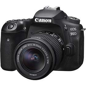 Canon EOS 90D + 18-55/4.0-5.6 IS STM