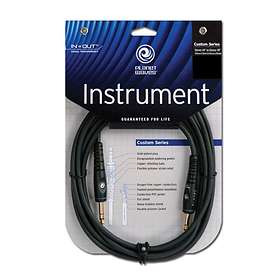 Planet Waves Custom Stereo 6.3mm - 6.3mm 3m