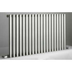DQ Heating Cove Stainless Horizontal Double 600x590 (RAL)