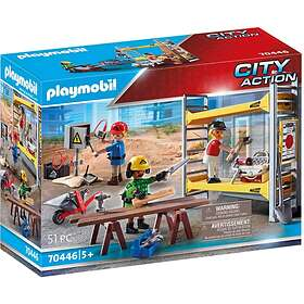 Playmobil City Action 70446 Scaffolding With Workers
