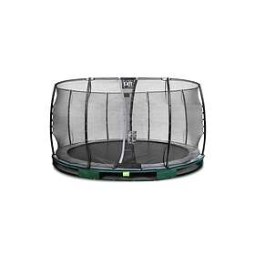 Exit Elegant Ground Trampoline With Economy Safety Net 427cm