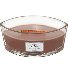 WoodWick Ellipse Scented Candle Stone Washed Suede