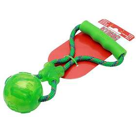 Kong Squeezz Ball With Rope M