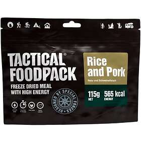 Tactical Foodpack Rice And Pork 115g