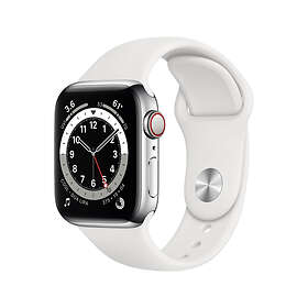 Apple Watch Series 6 40mm Stainless Steel with Sport Band