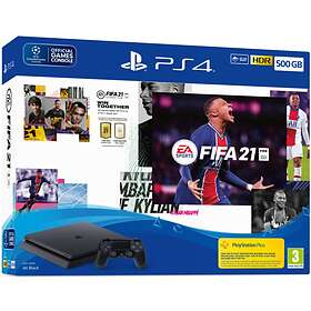 Sony PlayStation 4 (PS4) Slim 500GB (ml. FIFA 21)