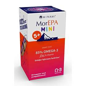 Minami Nutrition MorEPA Mini Smart Fats 85% Omega-3 60 Kapslar