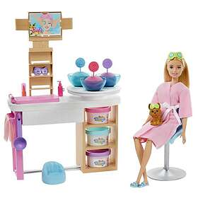 Barbie Face Mask Spa Day Playset (GJR84)