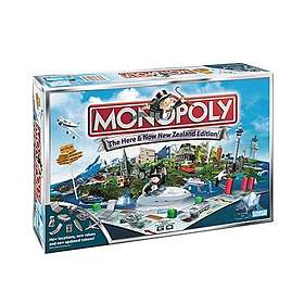 Hasbro Monopoly: Here & Now New Zealand Edition