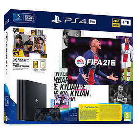 Sony PlayStation 4 (PS4) Pro 1TB (incl. FIFA 21 + 2nd Dualshock)