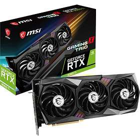 MSI GeForce RTX 3060 Ti Gaming X Trio HDMI 3xDP 8GB