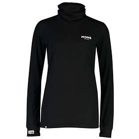 Mons Royale Yotei BF High Neck LS Shirt (Dam)