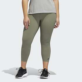 Adidas Believe This Solid Plus Size 7/8 Tights (Dam)