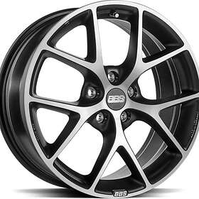 BBS SR Volcano Grey Diamond Cut 8x17 5/112 ET42 CB82.0