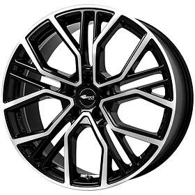 Brock Wheels B41 Black Full Polish 8.5x19 5/112 ET36 CB66.6