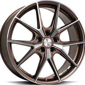 Brock Wheels B40 Bronze Copper Full Polish 8x19 5/112 ET38 CB66.6