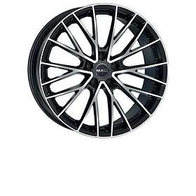 MAK Wheels Speciale Black Polished 9.5x20 5/112 ET45 CB66.6