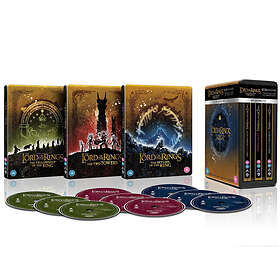 The Lord of the Rings Trilogy - Steelbook Collection (UHD+BD)
