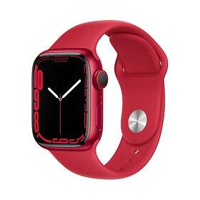 Apple Watch Series 7 4G 41mm (Product)Red Aluminium with Sport Band