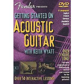 Fender:  Getting Started on Acoustic...