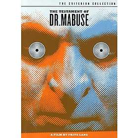 The Testament of Dr. Mabuse - Criterion Collection (US)
