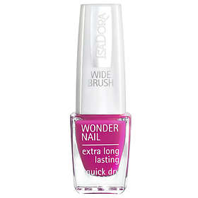 IsaDora Wide Brush Wonder Nail Extra Long Lasting Nail Polish 6ml