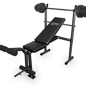 Titan Fitness Bench incl. 50kg