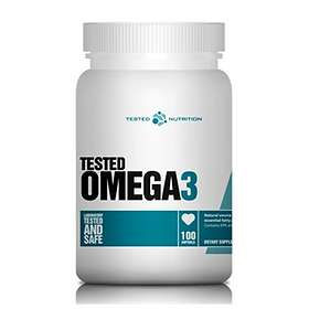 Tested Nutrition Omega-3 100 Kapslar