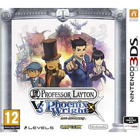 Professor Layton Vs Phoenix Wright: Ace Attorney (3DS)