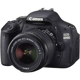 Canon EOS 600D + 18-55/3,5-5,6 IS