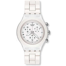Swatch Blooded White SVCK4045AG