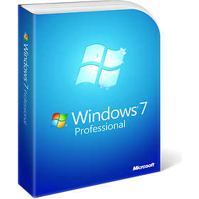 Microsoft Windows 7 Professional SP1 Eng (64-bit OEM)