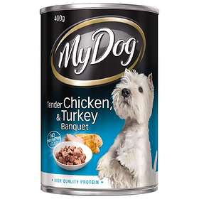My Dog Adult Tender Chicken & Turkey Banquet 0.4kg