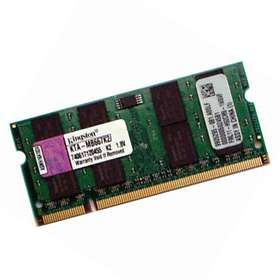 Kingston SO-DIMM DDR2 667MHz Apple 2x512Mo (KTA-MB667K2/1G)
