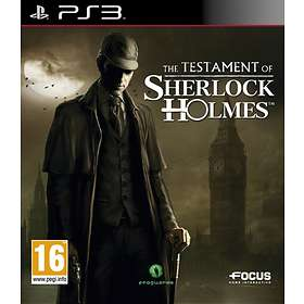The New Adventures of Sherlock Holmes: The Testament of Sherlock (PS3)