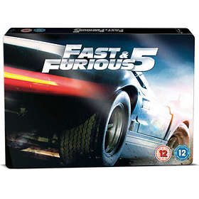 Fast & Furious 5 - Limited Edition SteelBook Triple Play (UK)