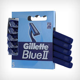Gillette Blue II Disposable Pack de 5