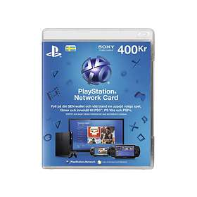 Sony PlayStation Network Card - 400 SEK